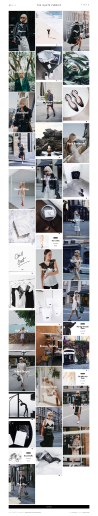 Best Fashion Blog Web Designs 2016