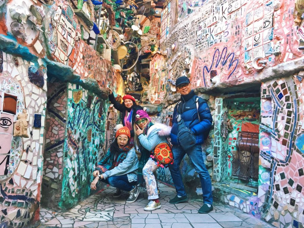 That Fascinating Day at Philadelphia's Magic Gardens Tour Travel Tips Philly Amazing Art Artist Zagar