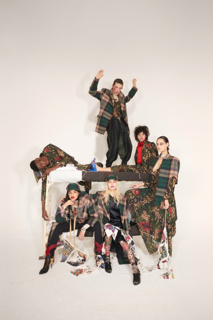 """Don't get killed"" is Vivienne Westwood's message for AW18"