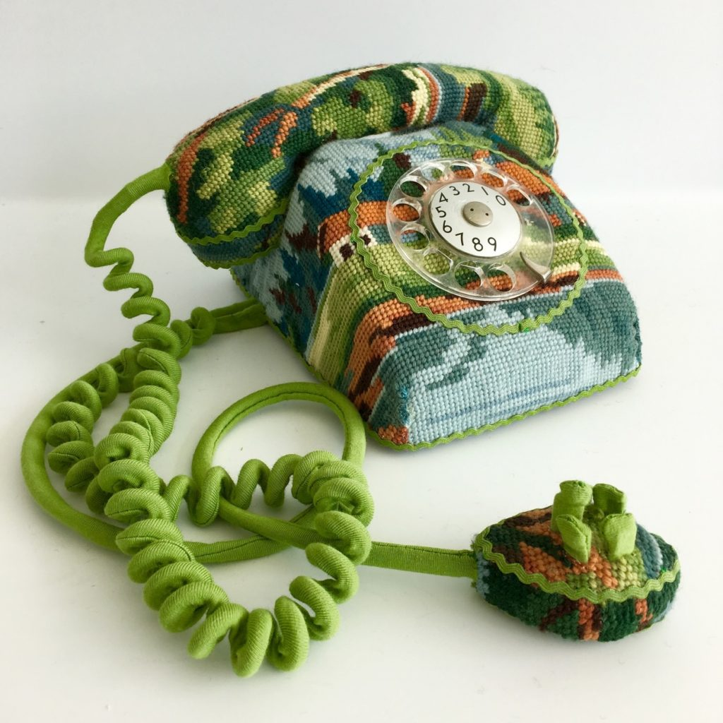 Swedish Embroidery Artist Ulla-Stina Wikander That Turns Discarded Items Into Art
