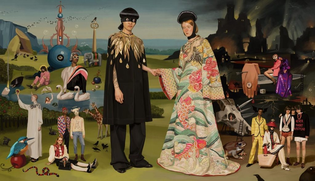 The Artist Illustrating Fantastical Worlds for Gucci