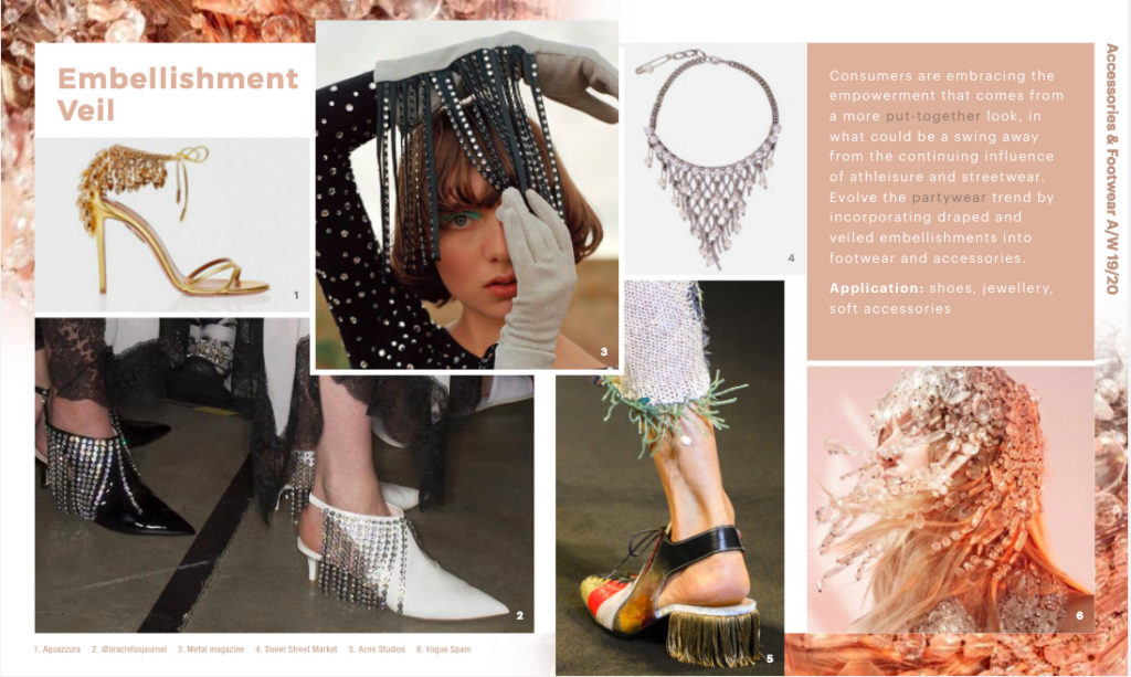 WGSN | Accessories, Footwear & Jewellery Forecast A/W 19/20: Women's Hardware & Details