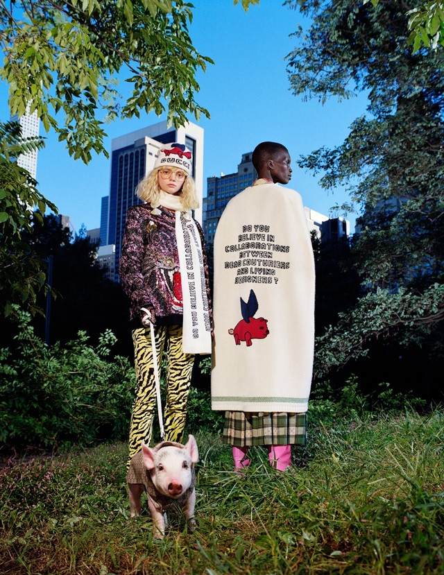 Gucci's Brilliant Year of the Pig Collection Campaign