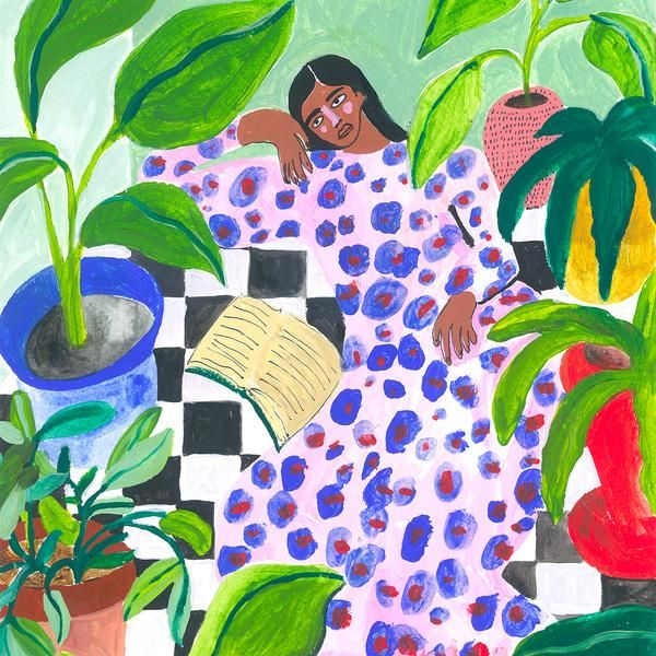 Exploring Artist and Illustrator Ana Leovy Colourful Bursts of Art