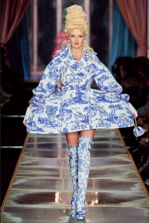 Moschino 2020 Obsessed Victorian Runway Fashion Week
